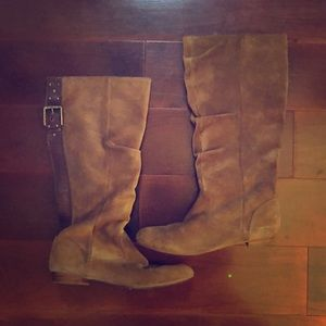 Jessica Simpson brown knee high boots size 7